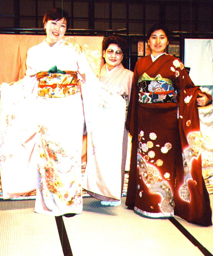 Университет Чиба в 1998 году. Встреча со студентами из Якутии