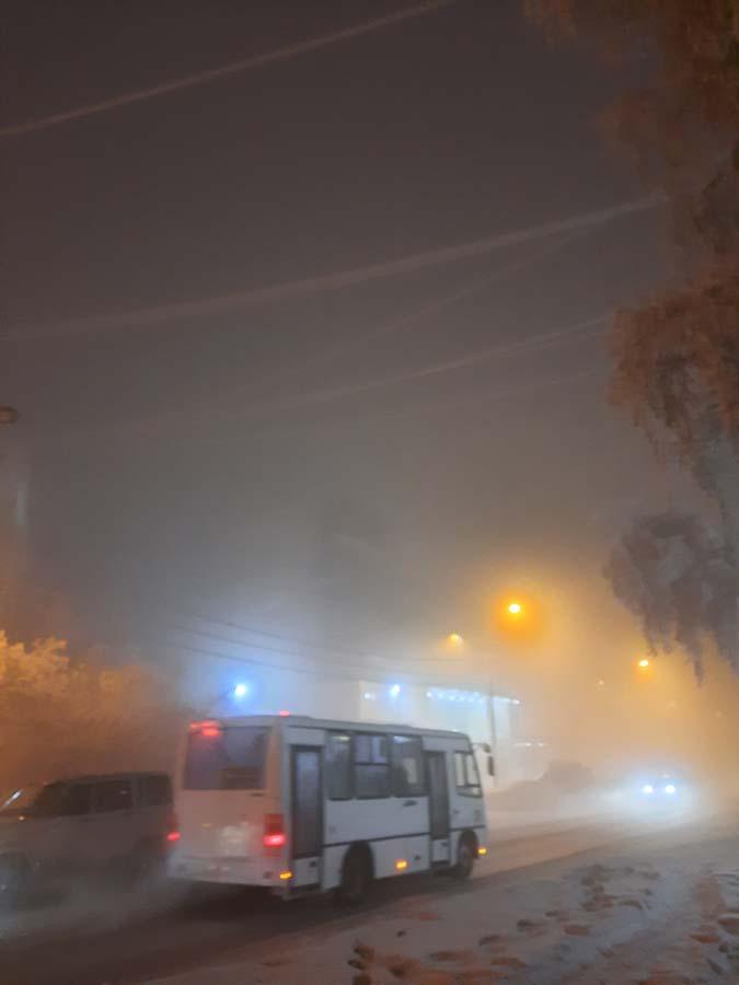 Ежики в тумане... Моменты Якутска при -50