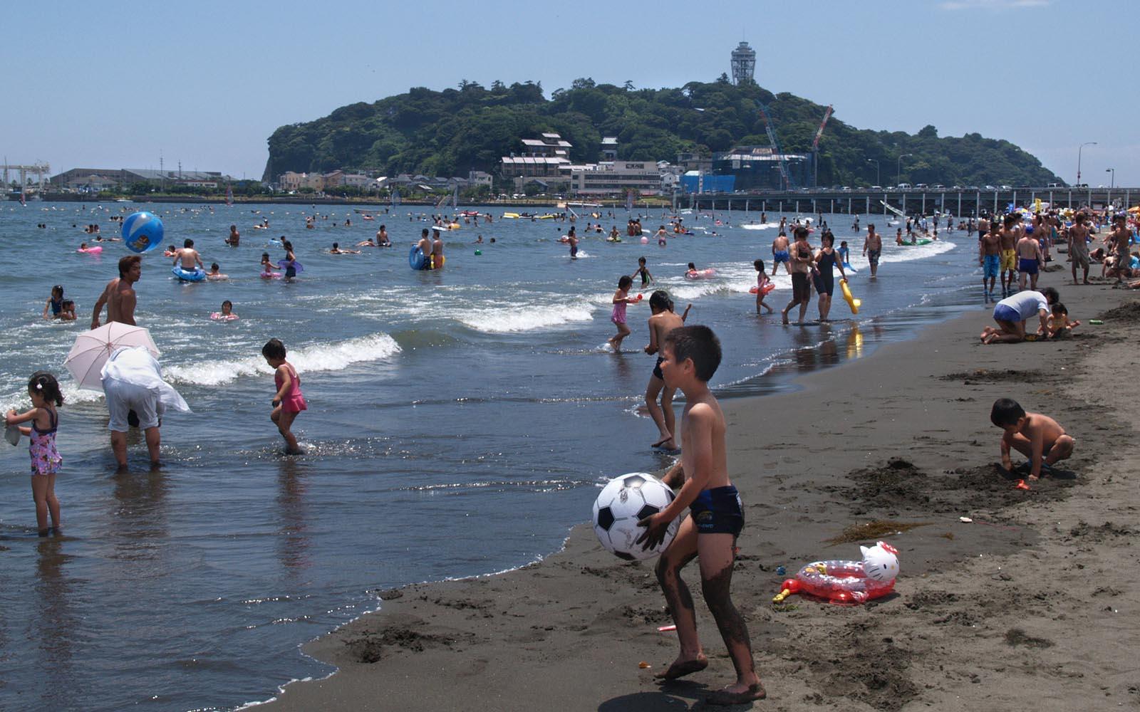 Эношима и Татэяма в июле 1996 года! 江ノ島と館山。平成7年7月。