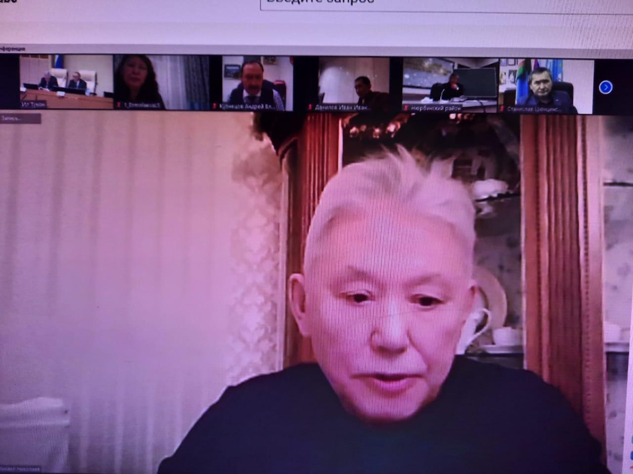 Выступление М.Е.Николаева на Круглом Столе Ил Тумэн РС (Я) по вопросам местного самоуправления