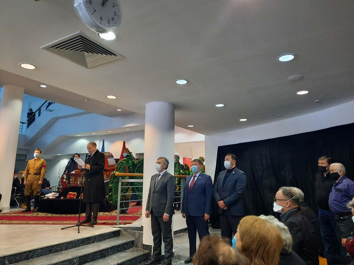 Прощание с Василием Егоровичем Васильевым - Харысхал