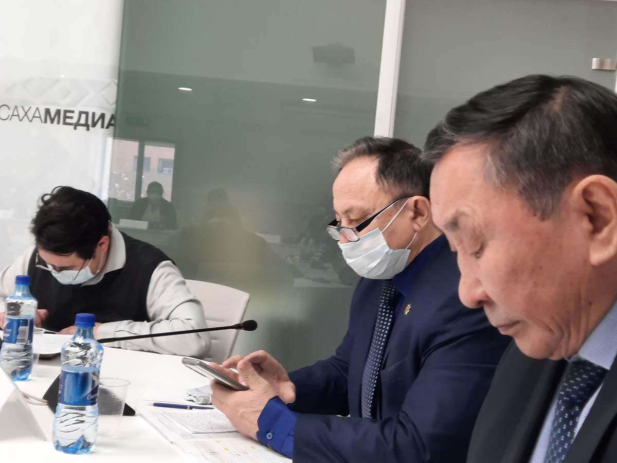 Доклад члена Высшего Совета Старейшин (Ытык Субэ) Республики Саха Иннокентия Аммосова