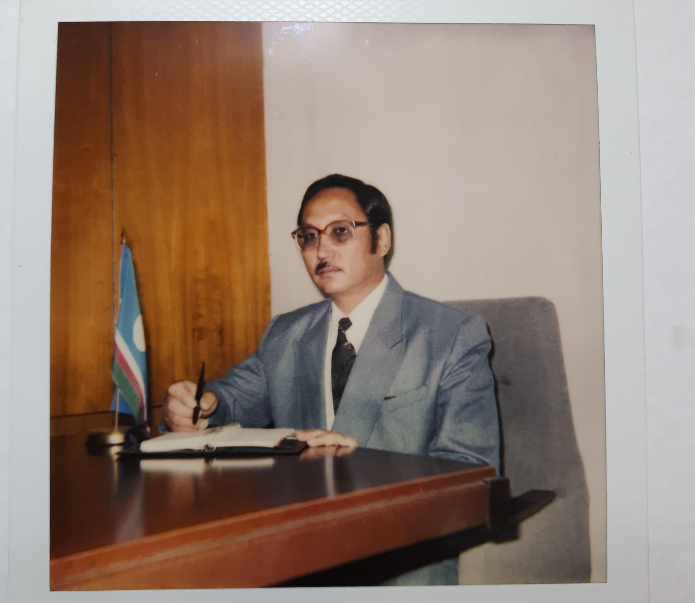 Памяти первого министра внешних связей Республики Саха (Якутия) В.П. Артамонова