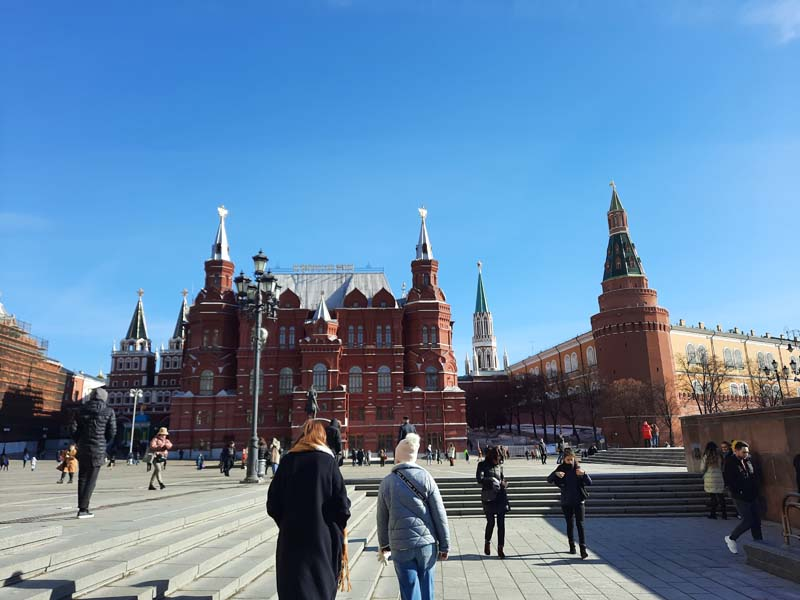Москва. Март 2021 года. Короткие путевые заметки