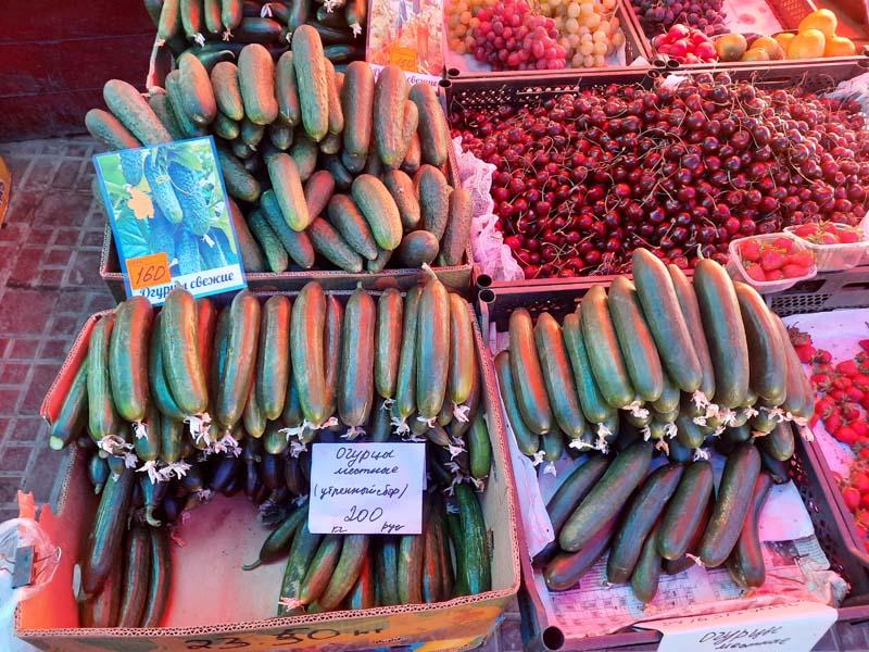 Крестьянский рынок 3.07.2021 года: Видео овощных рядов!