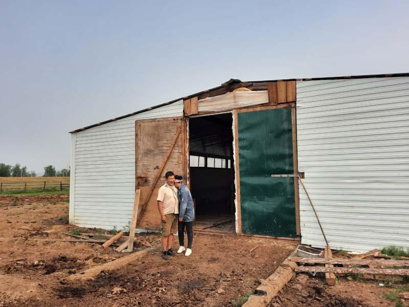 Фермер Александр Иванов о своем хозяйстве, о получении гранта на развитие семейной фермы