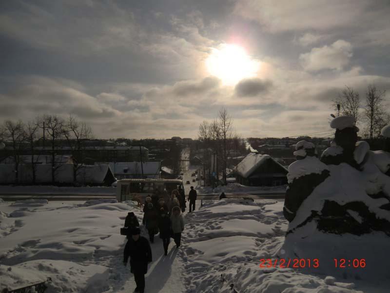 Зимнее видео! Нахот в феврале 2013 года!