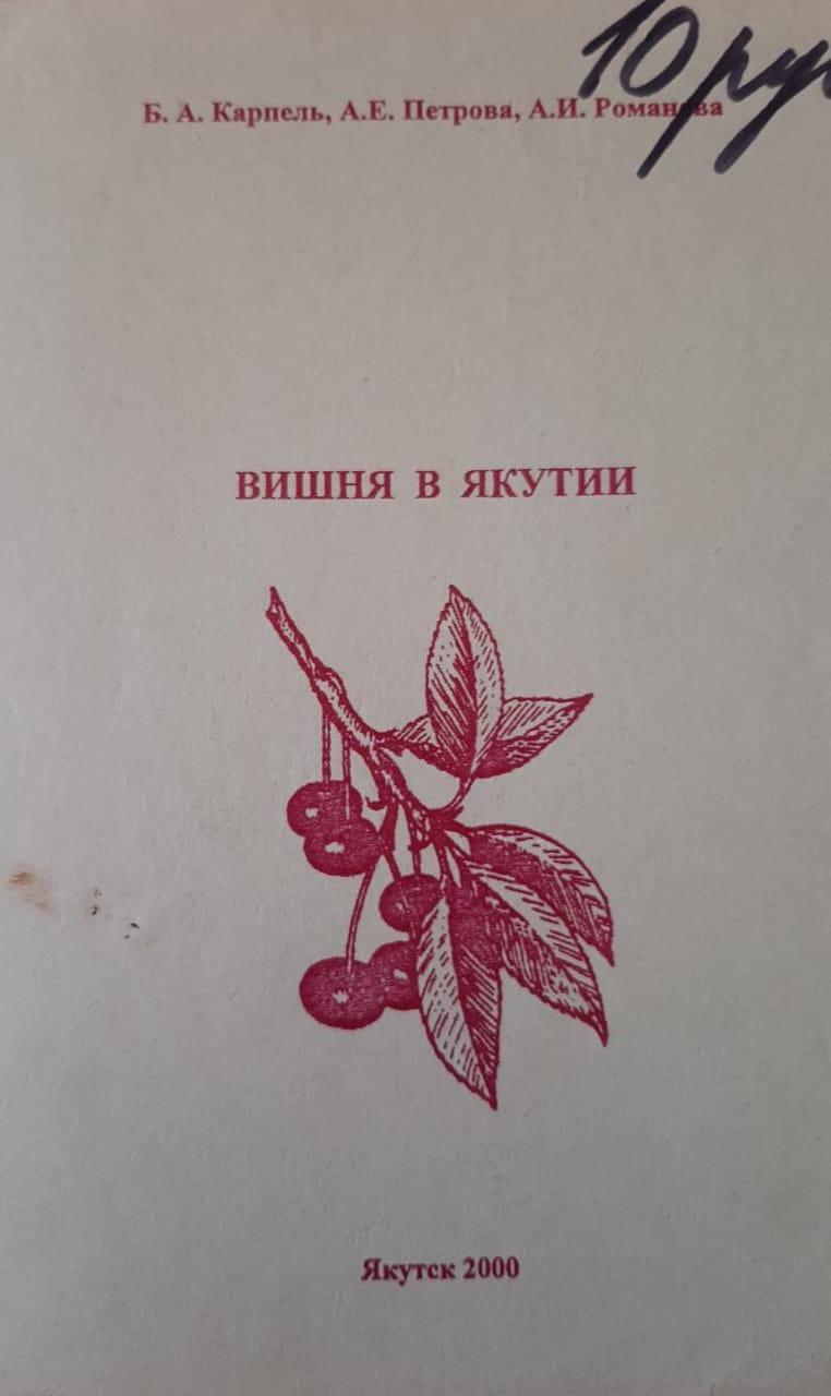 "Якутская вишня в программе ""Подворье"" телеканала ""Якутия24"""