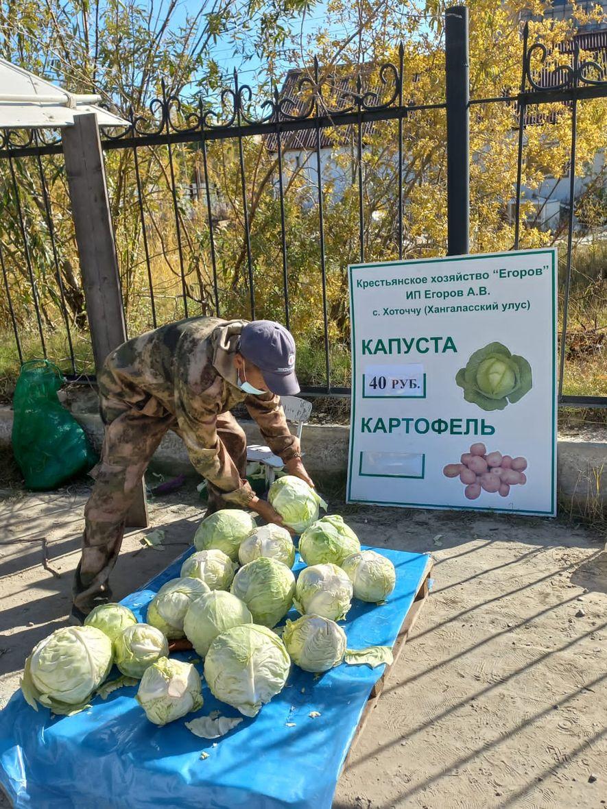 В Покровске состоялась выставка-ярмарка выходного дня